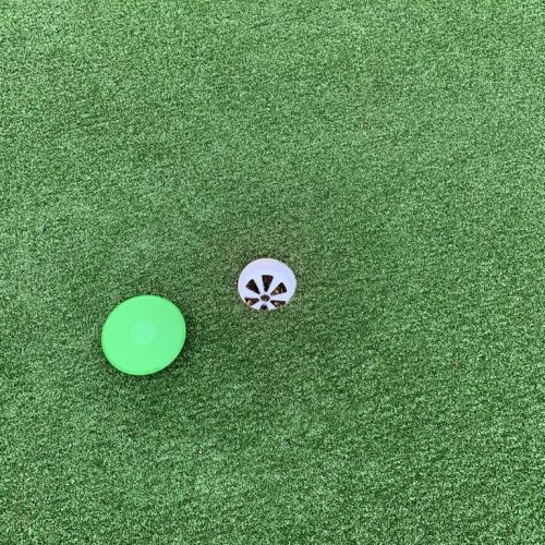 Golf Green Putting Hole With Lid